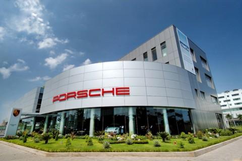 Cải tạo Showroom Porsche