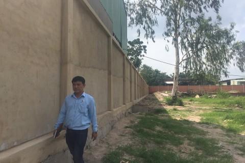 Xây dựng tường rào nhà xưởng Toàn Châu